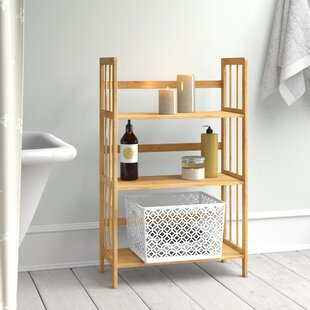 Azar 3 Tiers 55 X 88cm Bathroom Shelf By Brambly Cottage