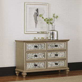 Rosdorf Park Erica 6 Drawer Double Dresser