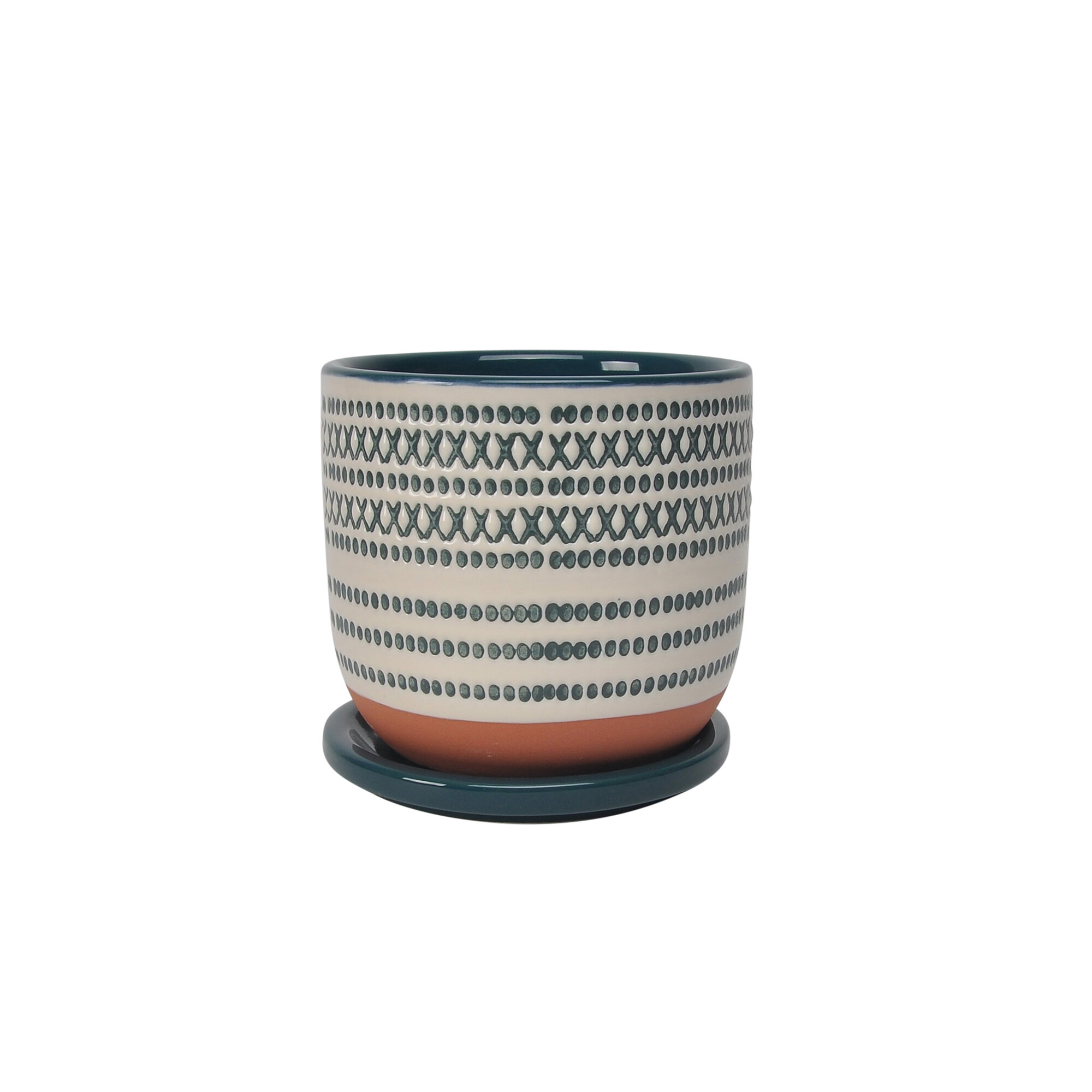 Dakota Fields Grant Ceramic Pot Planter Wayfair