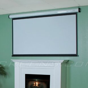 Home2 Series White 90 Electric Projection Screen