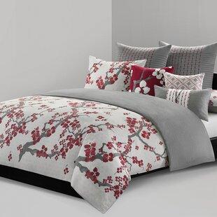 Natori Cherry Blossom Duvet Collection