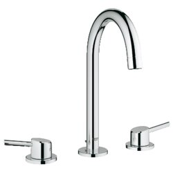 Bathroom Faucet Handles grohe concetto double handle widespread bathroom faucet & reviews