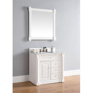 Maurice 36 Single Cottage White Bathroom Vanity Set by Alcott Hill