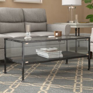 Aldridge Terrarium Coffee Table by Three Posts SKU:DD298858 Guide