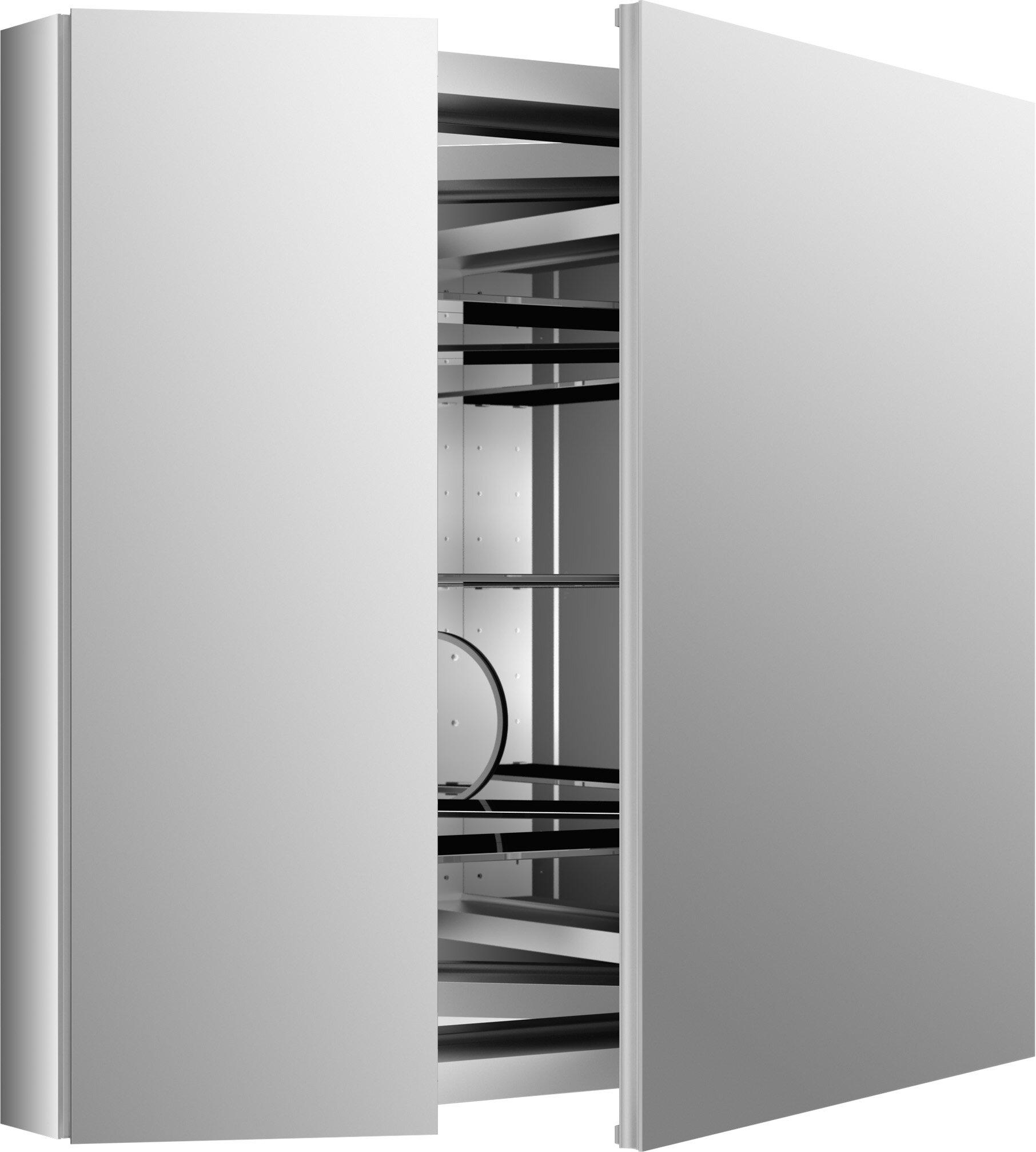Kohler Verdera Lighted Medicine Cabinet 34 X 30 With Lighting Reviews Wayfair
