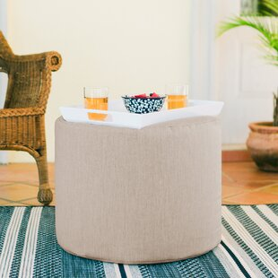 Luiza Outdoor Pouf by Turn..