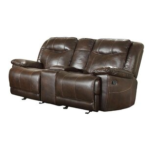 Hasson Dual Glider Reclining Loveseat
