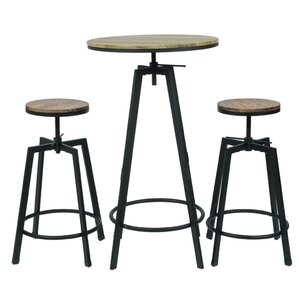 Max 3 Piece Bar Table Set by Commercial Seating Products