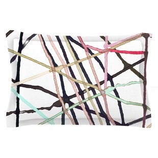 Patternmuse 'Love Tangle' Watercolor Sham