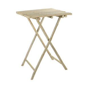 Oneridge Folding Teak Bar Table By Bay Isle Home
