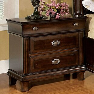 Tolsi 2 Drawer Nightstand
