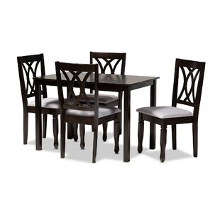 Botts 5 Piece Dining Set Canora Grey