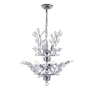 CWI Lighting 6-Light Candle Style Chandelier