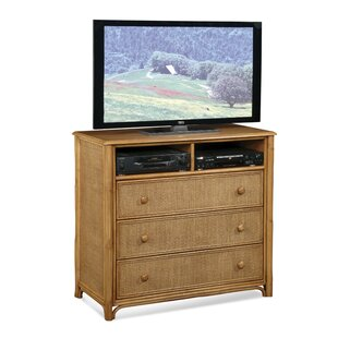 Summer Retreat Media 3 Drawer Dresser