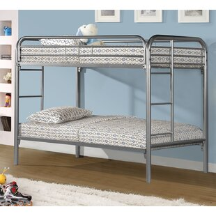 Becket Twin over Twin Slat Bunk Bed By Harriet Bee