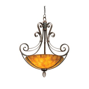 Kalco Mirabelle 6-Light Bowl Pendant