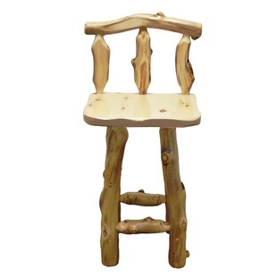 Aspen Grizzly 24'' Barstool Mountain Woods Furniture