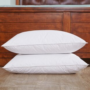 Down and Feathers Bed Pillow (Set of 2)