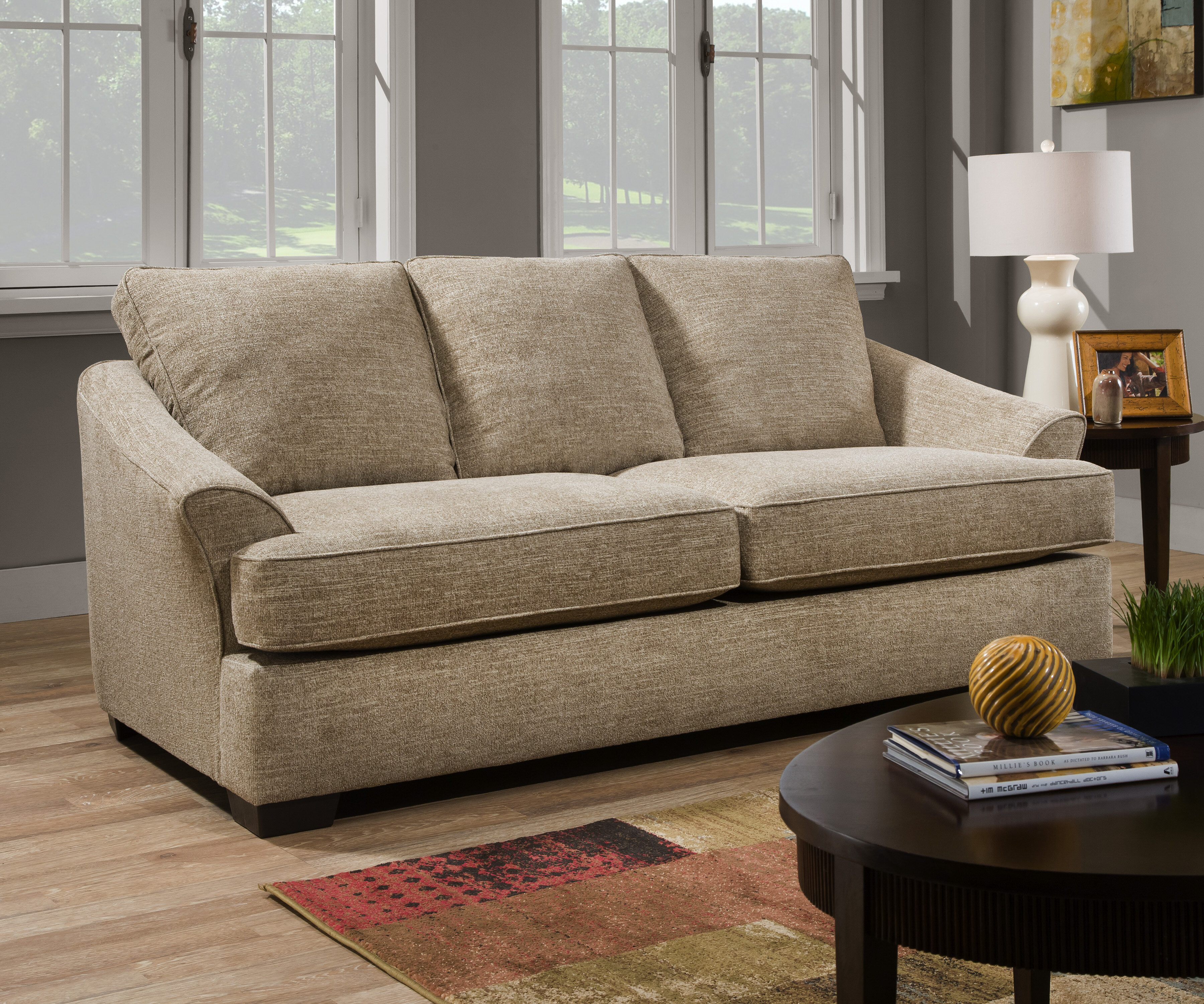 Andover Mills Simmons Upholstery Forreston Upholstery Sofa Bed  ~ Clarkedale Sleeper Sofa