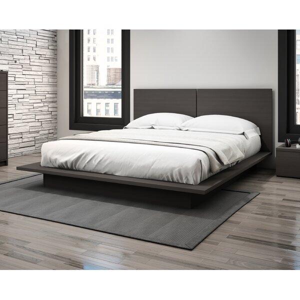 Queen Platform Bed Frames orren ellis decimus queen platform bed & reviews | wayfair