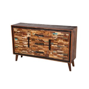 Jaipur Mixed Wood Sideboard by Design Tree Home
