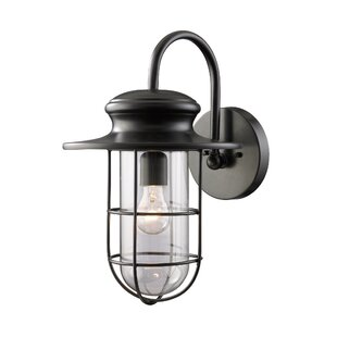 Garr 1-Light Outdoor Barn Light By Breakwater Bay Outdoor Lighting
