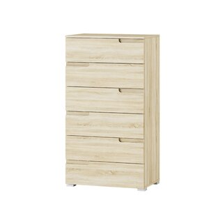 Pantoja 6 Drawer Chest By Mercury Row