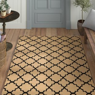 Longmont Cream/Black Indoor Area Rug By Laurel Foundry Modern Farmhouse