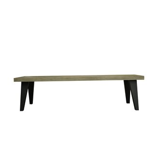 Fiskeville Acacia Wood Bench by Union Rus..