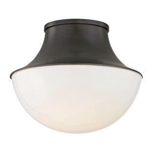 Latitude Run Collier 1-Light LED Flush Mount