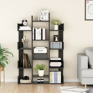 Jared Tree-Shape Library Bookcase by Ebern Designs
