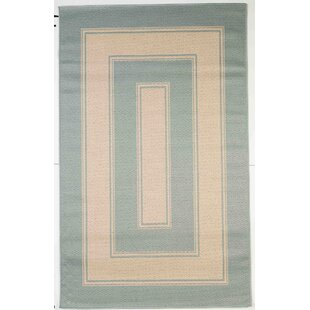 Howe Light Blue Indoor/Outdoor Area Rug