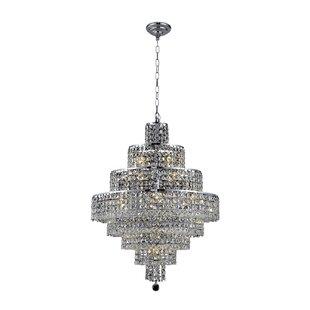 Bratton Contemporary 18-Light Chandelier ..