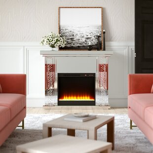 Abbott Electric Fireplace By Rosdorf Park