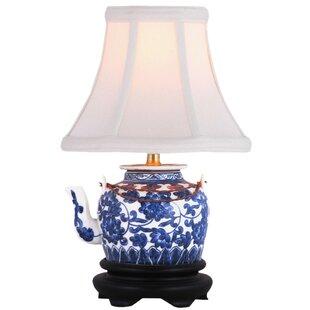 Oriental Furniture Tea Pot 12