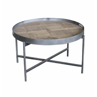 Aramis Coffee Table with Tray Top