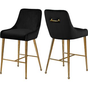 Stovall 28 Bar Stool (Set of 2) Everly Quinn