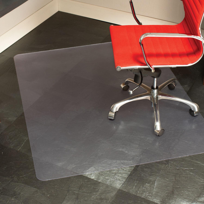 Es Robbins Everlife Hard Floor Straight Rectangular Chair Mat Reviews Wayfair