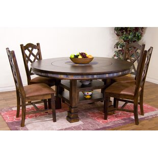 Loon Peak Fresno Solid Wood Dining Table