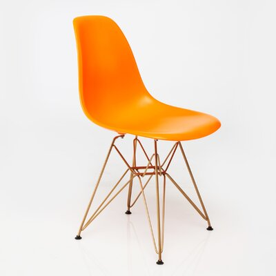 Mohnton Dining Chair Seat Color: Orange by Wade Logan