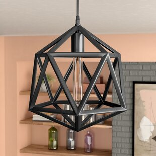 Great Price Brinckerhoff 1-Light Geometric Pendant By Mercury Row