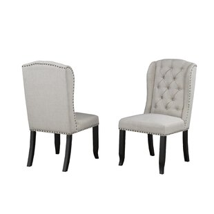 Mcnamara Upholstered Dining Chair (Set of 2) by Alcott Hill