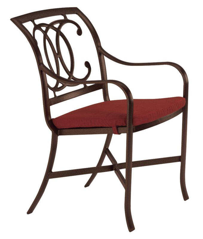 Find Palladian Patio Dining Chair With Cushion By