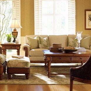 Tommy Bahama Home Island Estate 2 Piece Coffee Table Set
