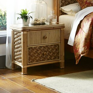 Jovani 2 Drawer Nightstand by Bay Isle Home