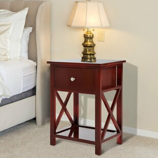 Bargain Dane End Table with Storage By Charlton Home