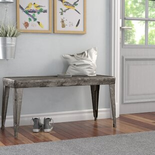 Laurel Foundry Modern Farmhouse Bear River Metal Bench