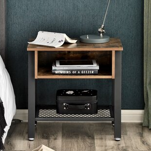 Jack End Table with Storage by 17 Stories