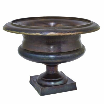 Leilla Urn Bloomsbury Market Color: Brown