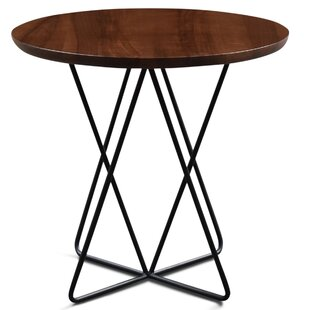 Best Haggard Milo End Table by Ivy Bronx